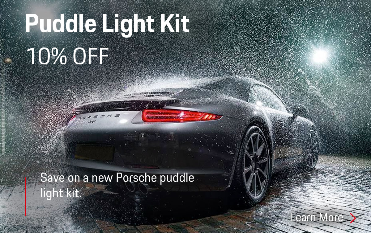 Porsche Puddle Light Kit Special Coupon