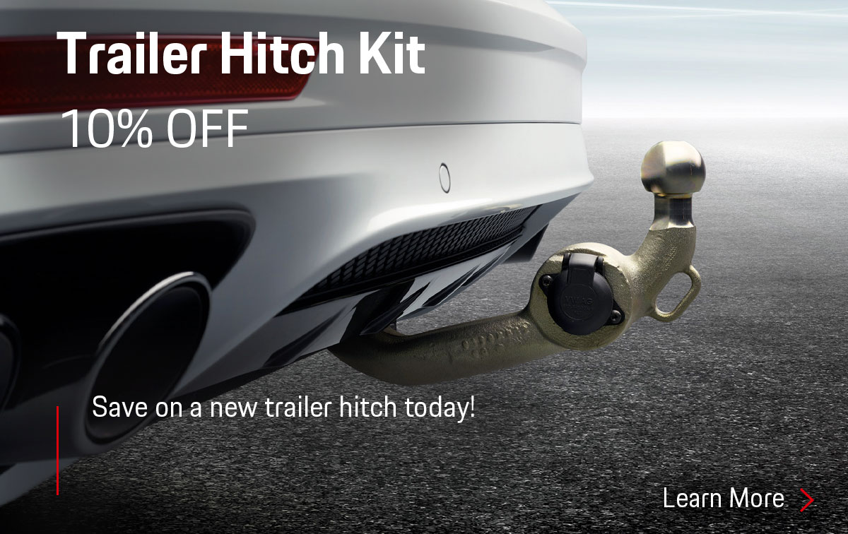 Porsche Trailer Hitch Special Coupon