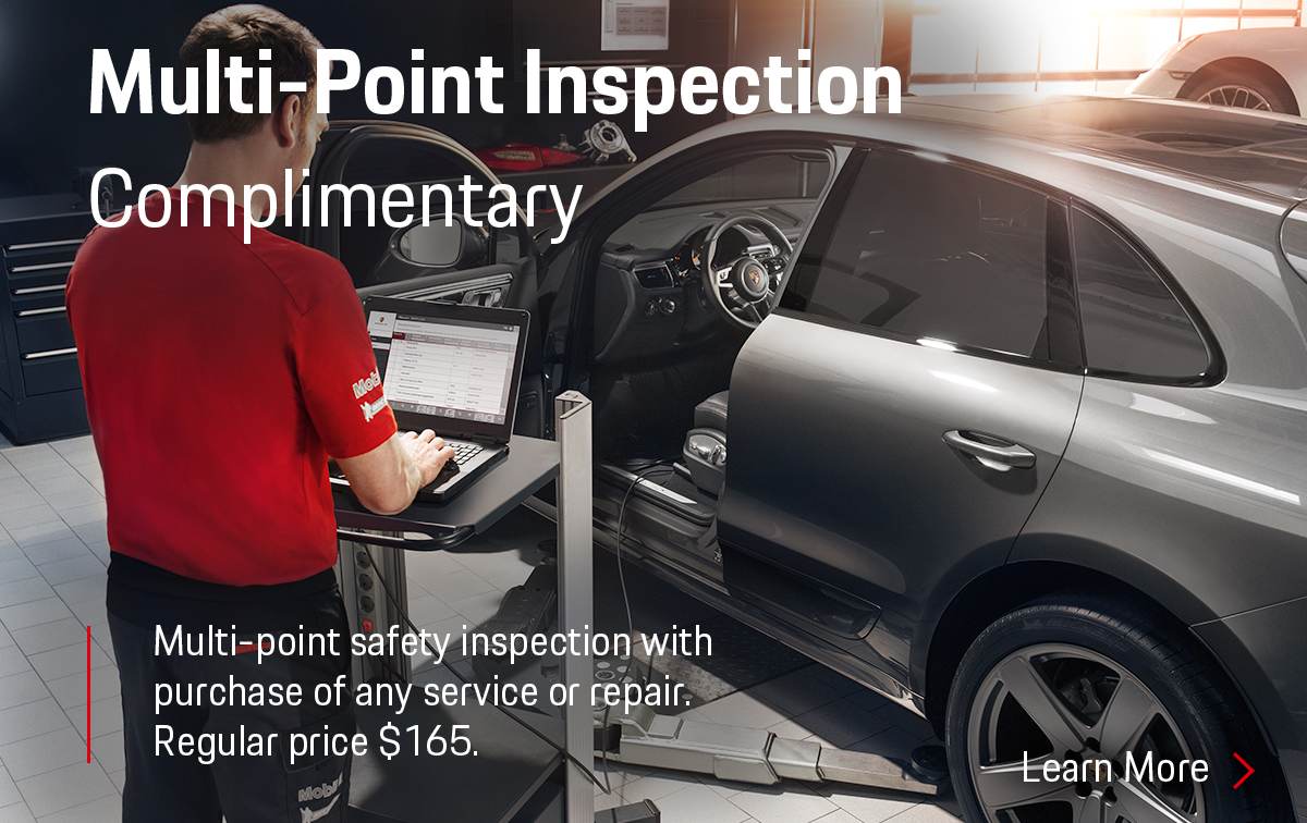 Porsche Multi-Point Inspection Service Special Coupon