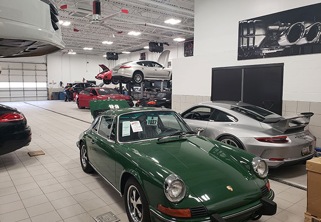 Porsche Owings Mills Interior