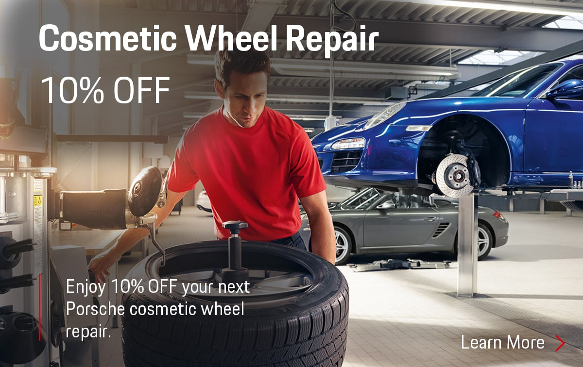Porsche Cosmetic Wheel Repair Special Coupon