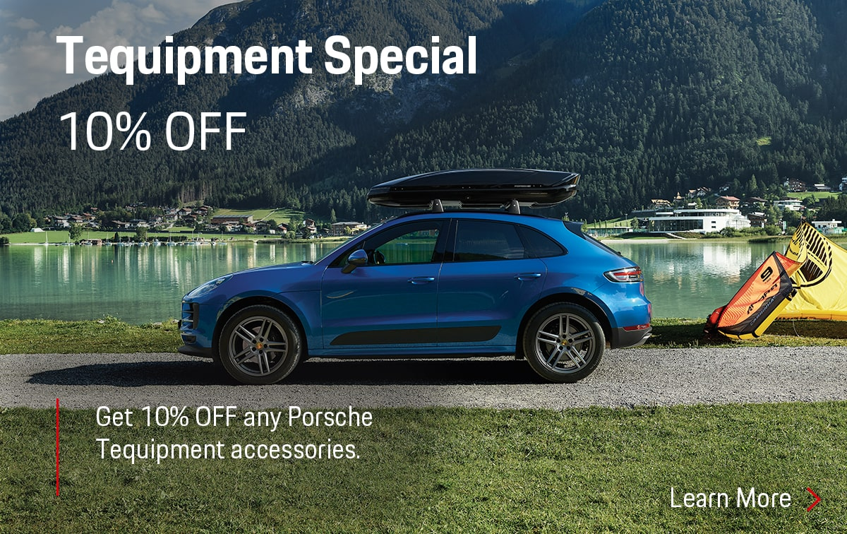 Porsche Tequipment Parts Special Coupon