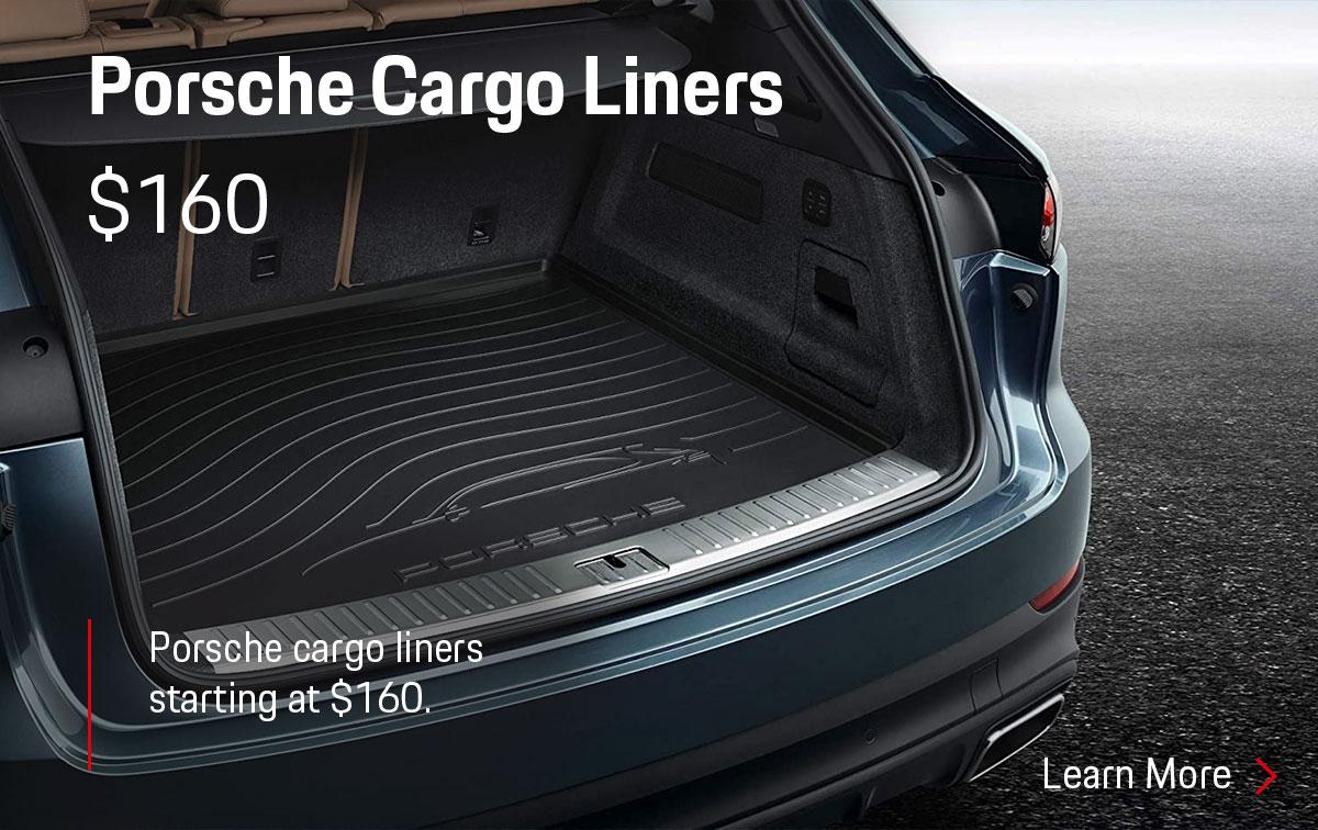 Porsche Cargo Liner Parts Special Coupon