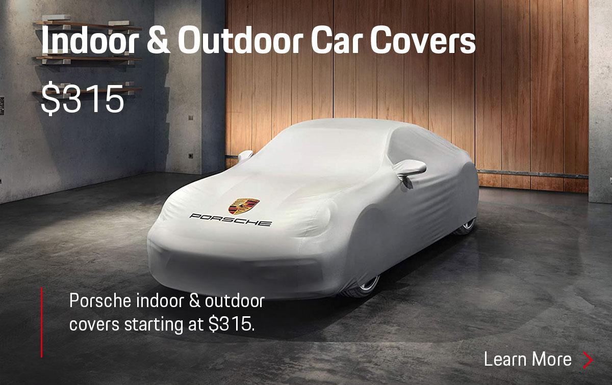 Porsche Indoor & Outdoor Covers Parts Special Coupon