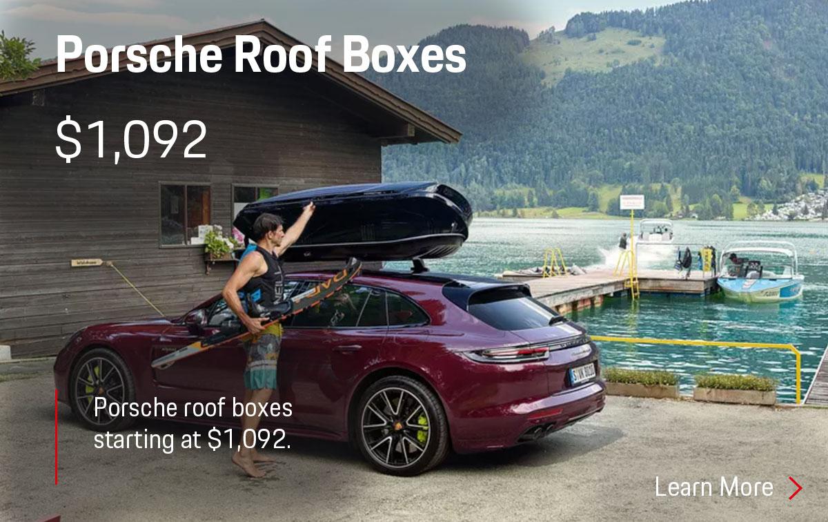 Porsche Roof Box Parts Special Coupon