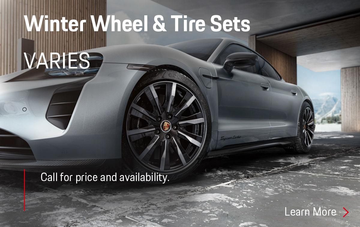 Porsche Winter Wheel & Tire Set Parts Special Coupon