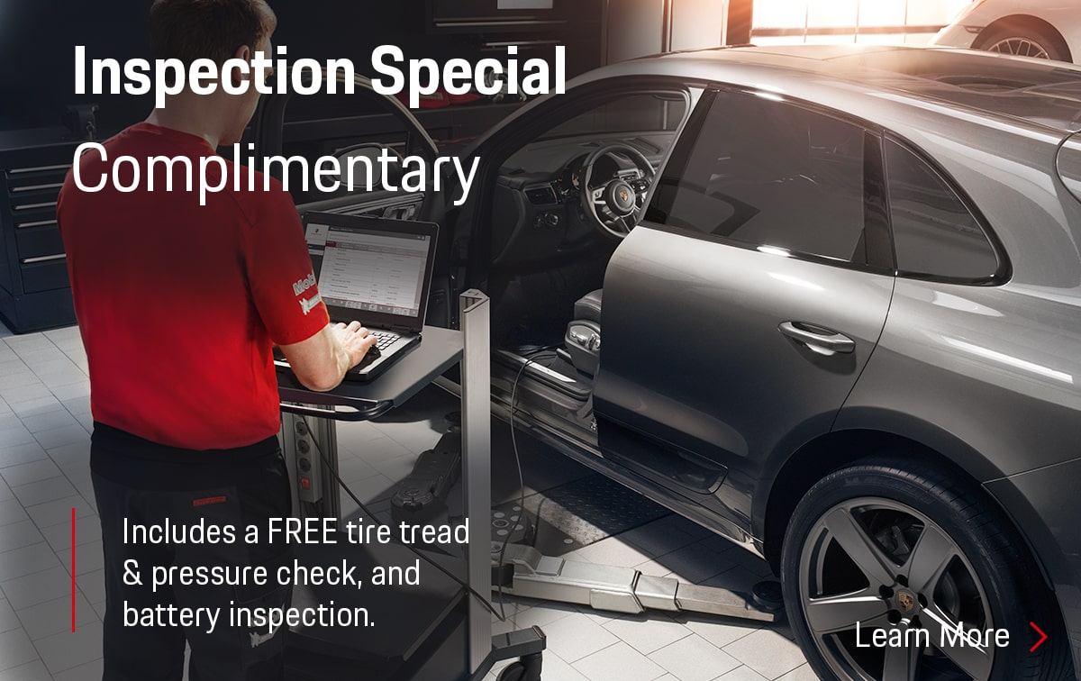 Porsche Inspection Service Special Coupon