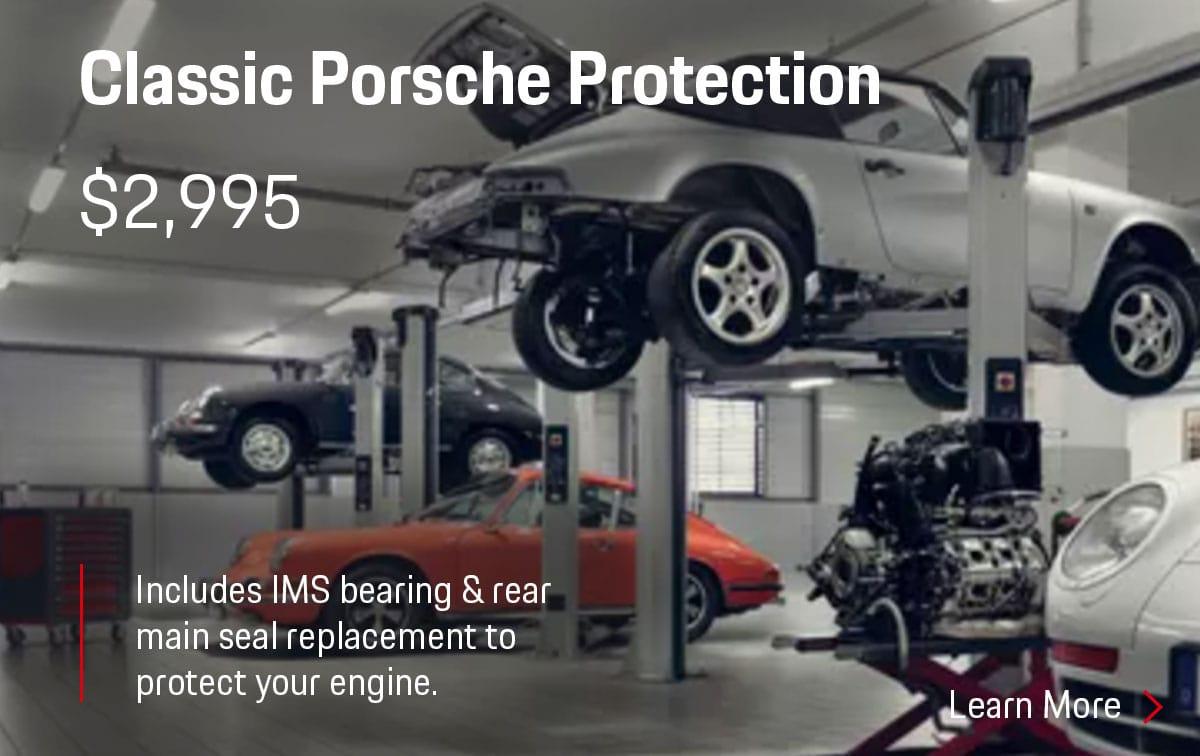 Porsche Classic Porsche Protection Service Special Coupon