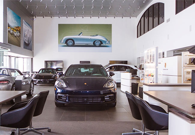 Porsche Maintenance and Repair Department