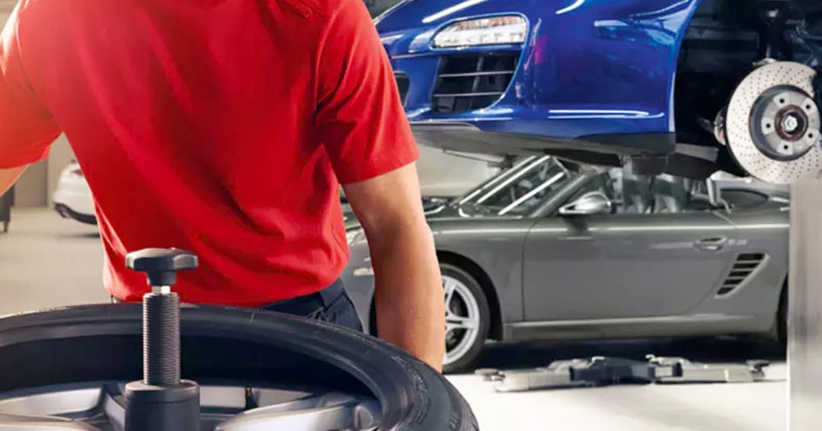 Porsche Tire Inspection Service Special Coupon