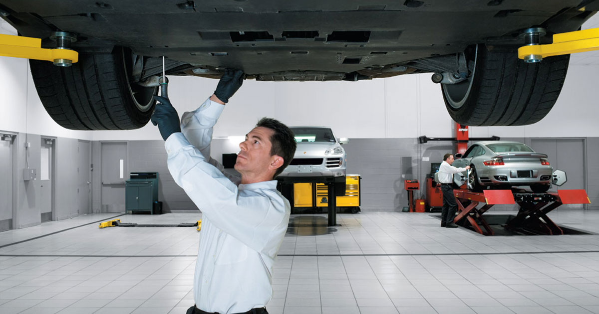 Porsche Track Inspection Service Special Coupon