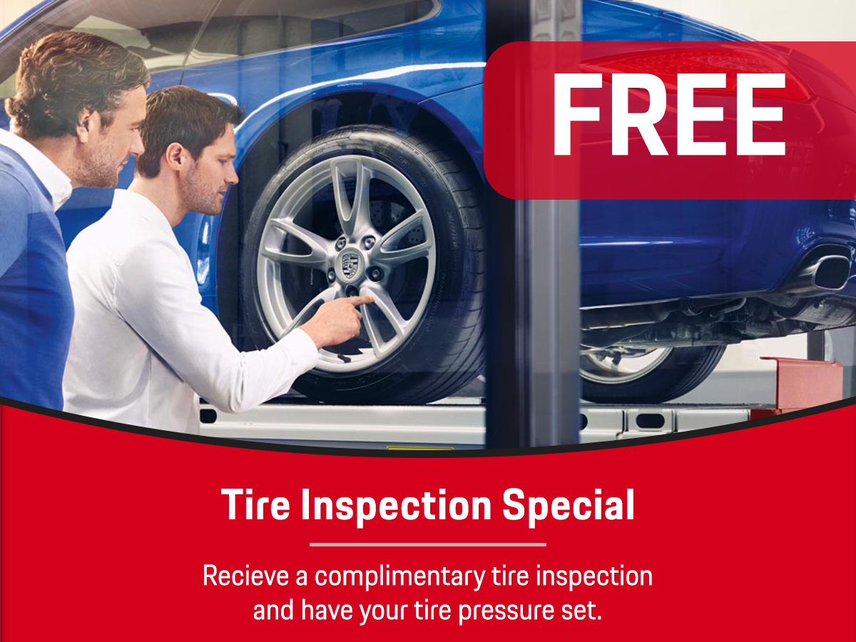 Tire Inspection Service Special Coupon