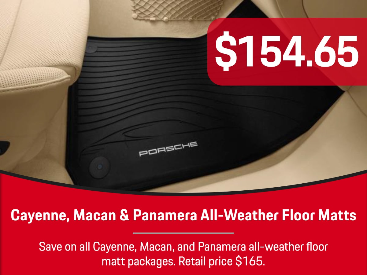 Porsche Cayenne Macan Panamera Matt Packages Special Coupon
