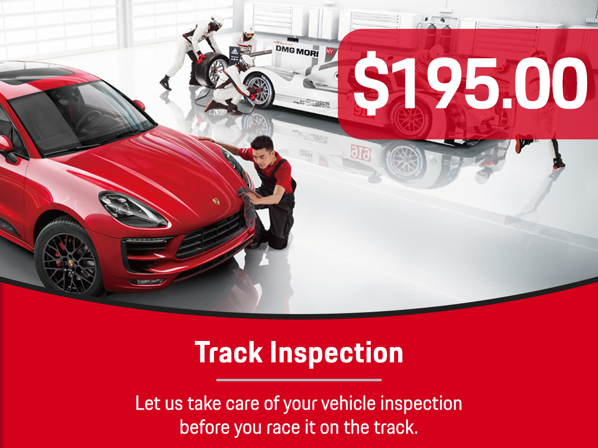 Track Inspection Service Special Coupon