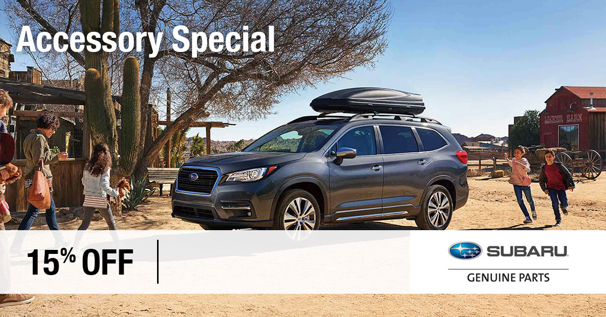 Subaru Accessories Coupon