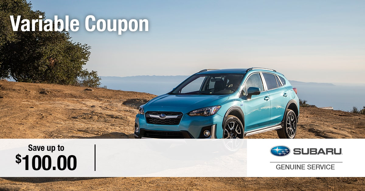 Subaru Variable Coupon Service Special Coupon