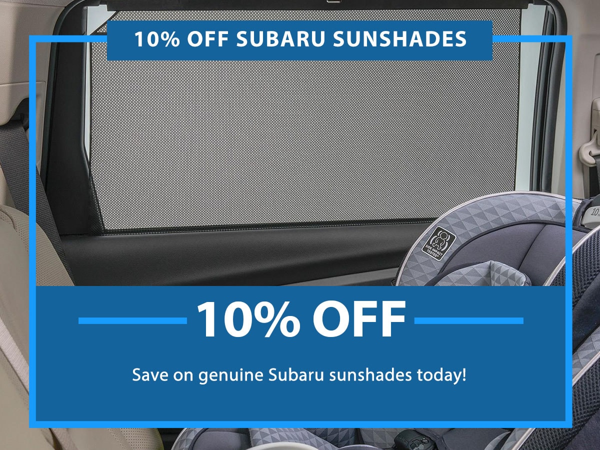 Subaru Sunshade Special Coupon
