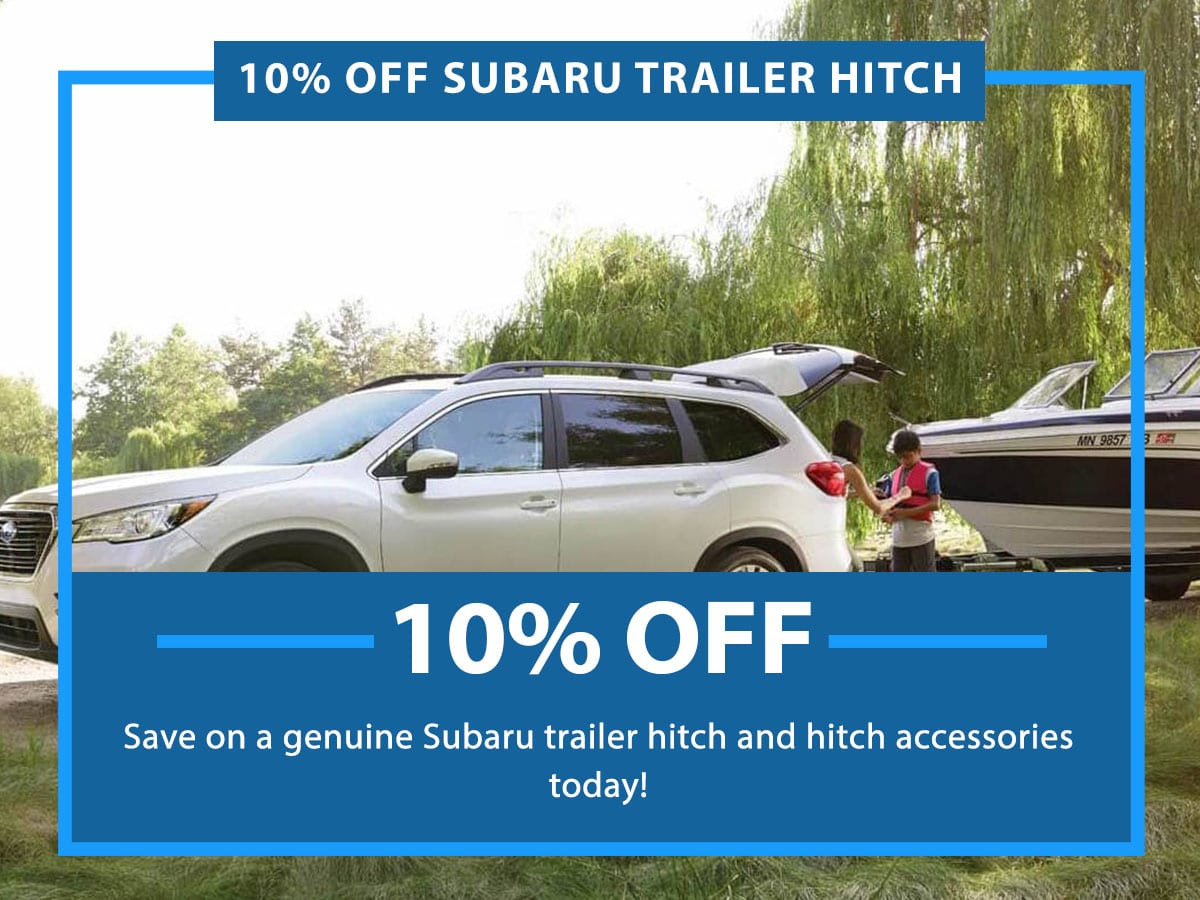 Subaru Trailer Hitch Special Coupon