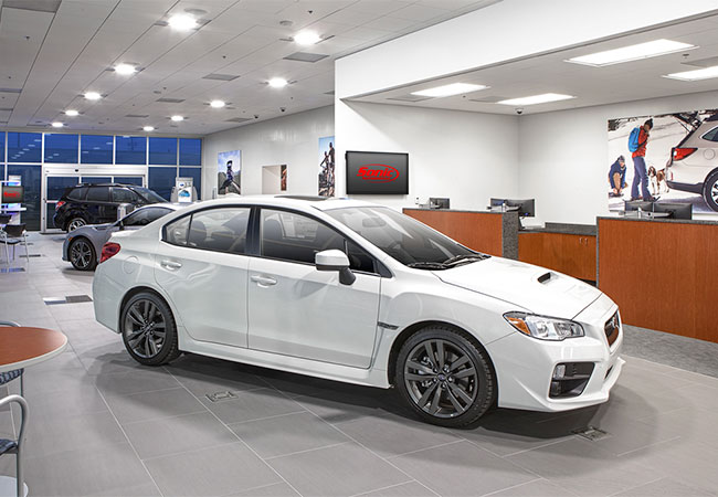 Germain Subaru of Columbus Showroom