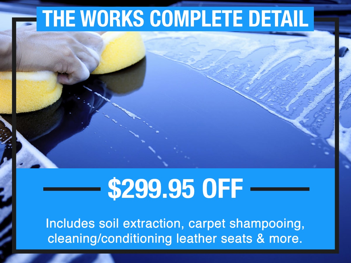 Complete Detail Service Special Coupon