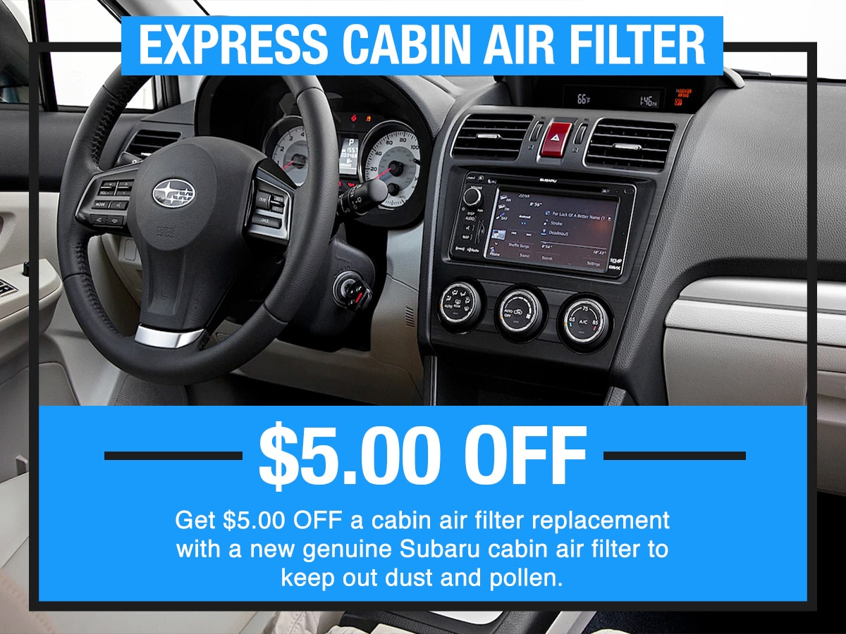 Express Cabin Air Filter Special Coupon