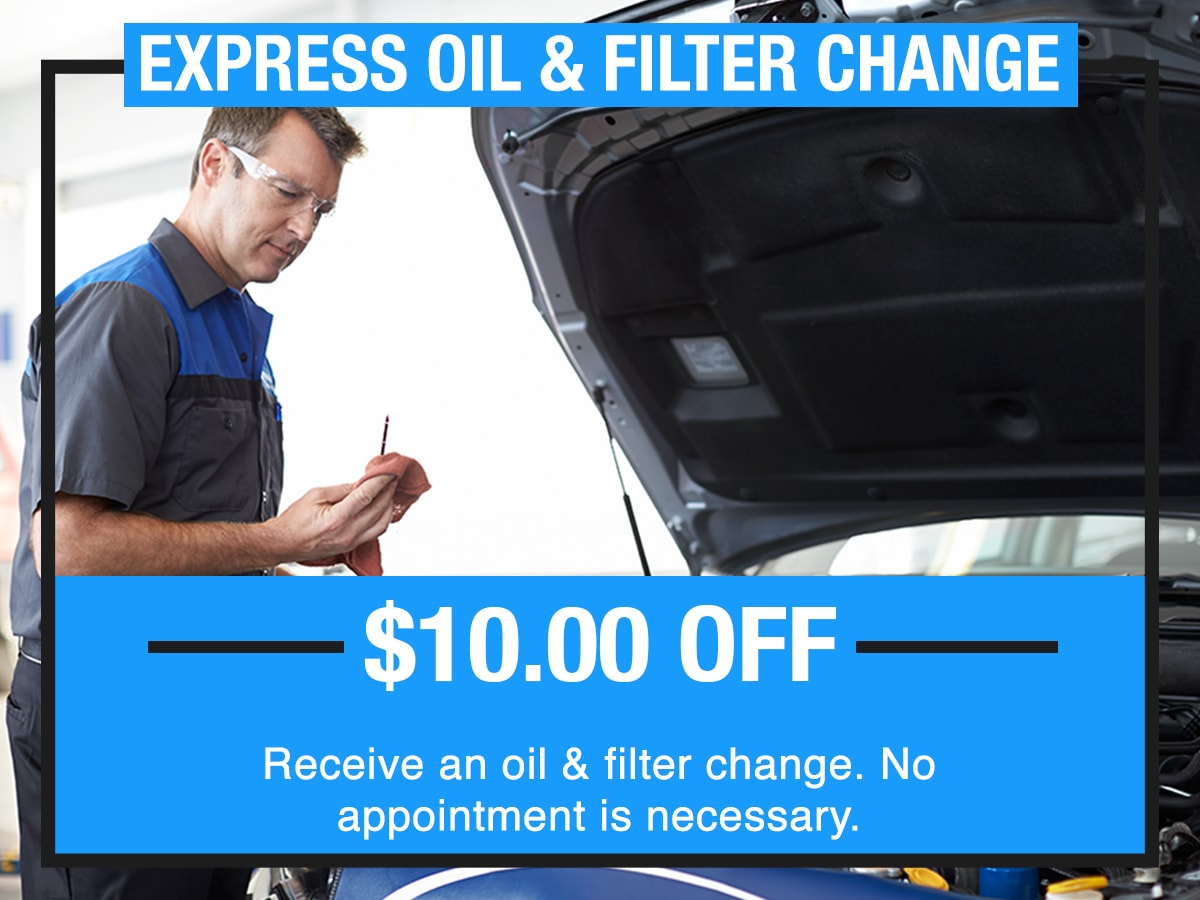 Express Oil & Filter Change Special Coupon