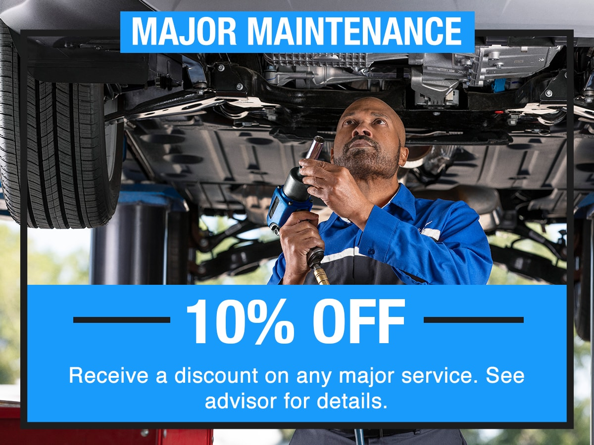 Major Maintenance Service Special Coupon