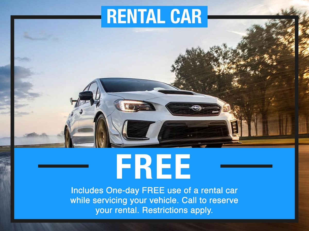 Rental Car Service Special Coupon