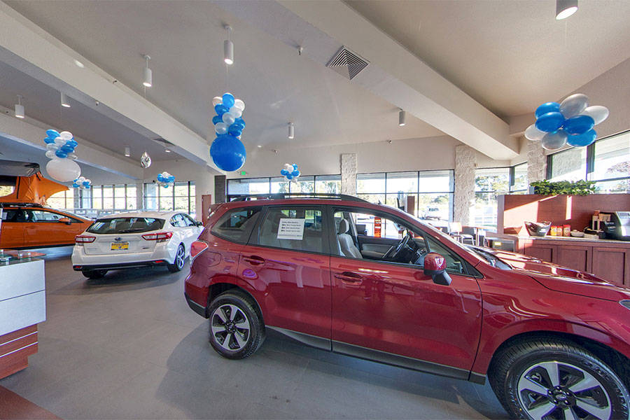 Santa Cruz Subaru Showroom