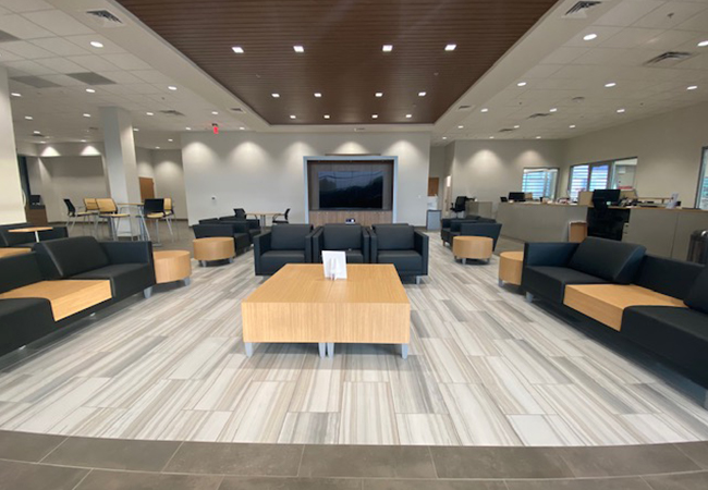 Berglund Toyota Waiting Room