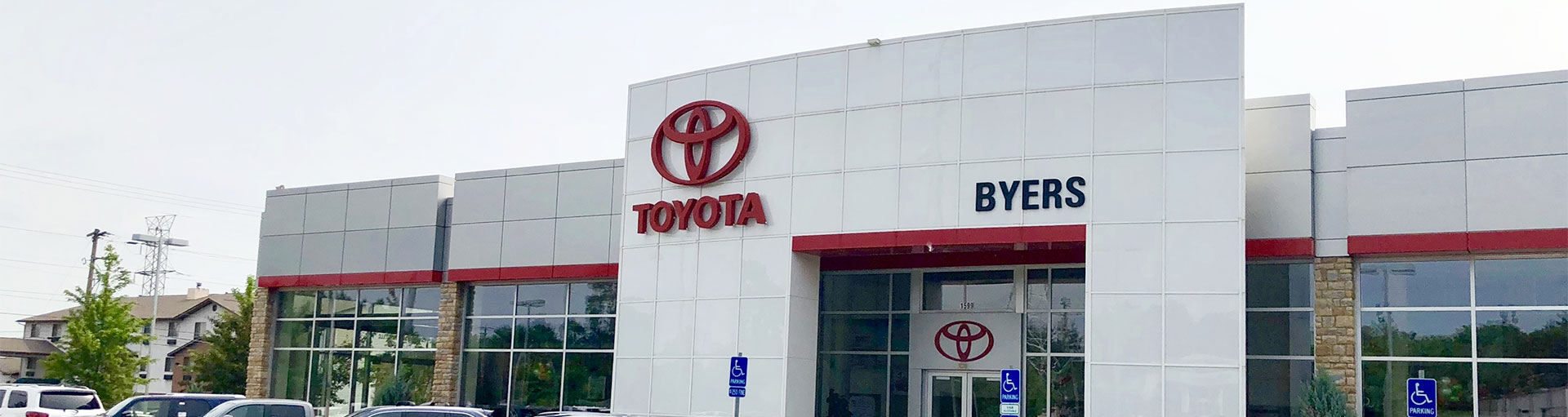 Byers Toyota Tire Department