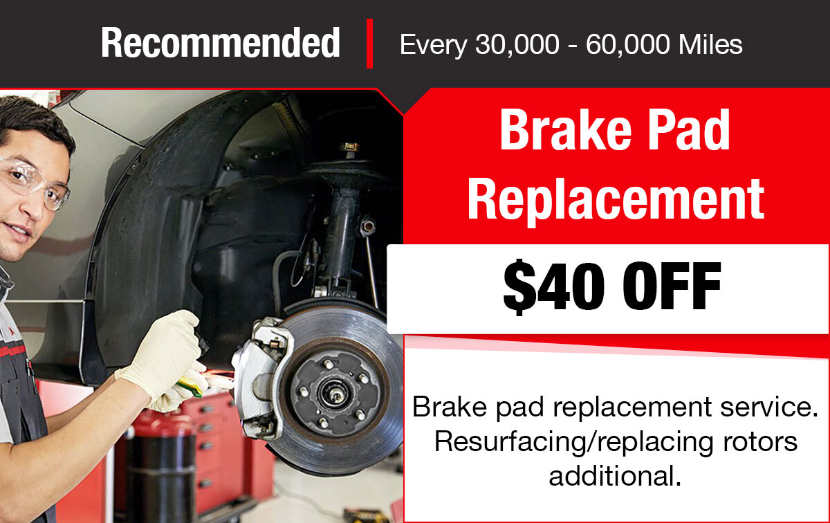 Toyota Brake Replacement Service Special Coupon