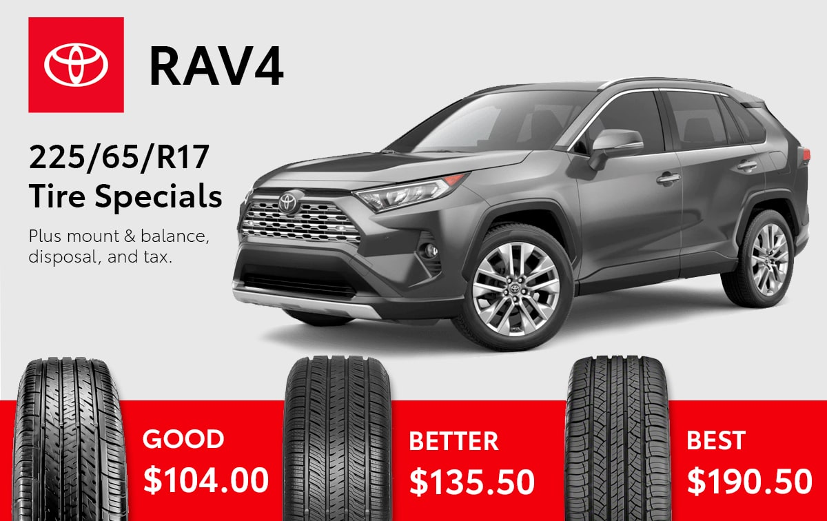 Toyota Dealers In Delaware >> Genuine Toyota Tire Specials in Delaware, OH | Byers Toyota