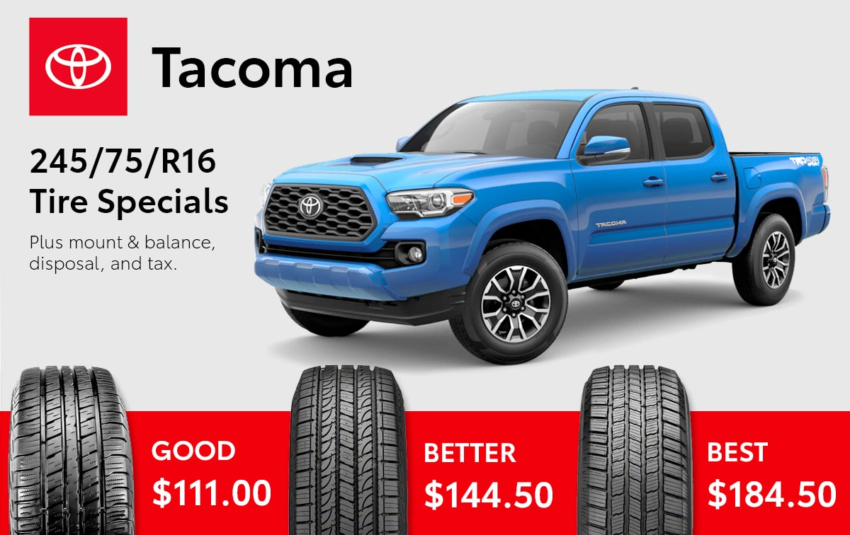 Toyota Tacoma Tire Special