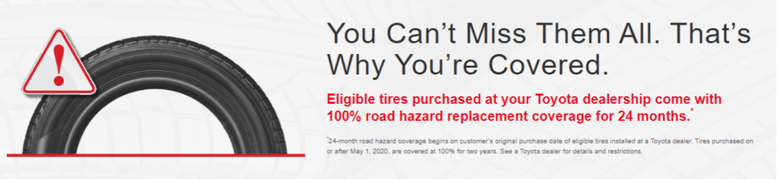 Toyota Tire Offer