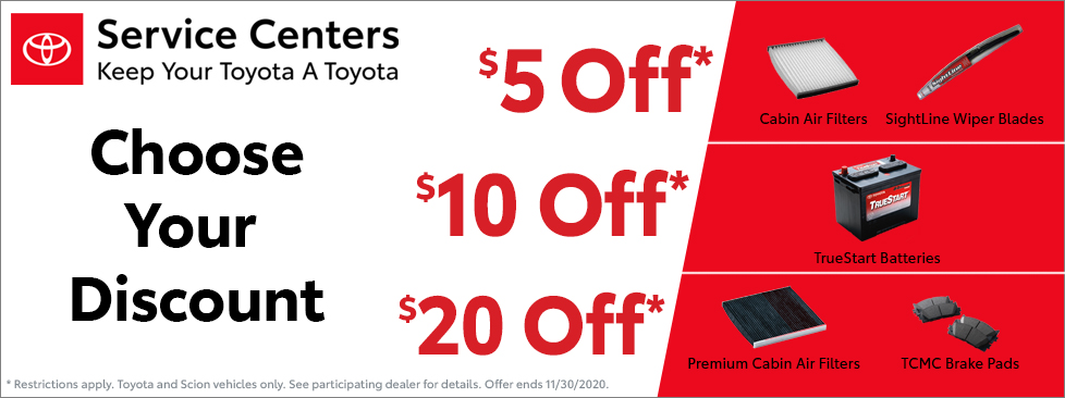 Findlay Toyota Special Offer