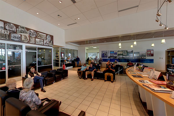 Findlay Toyota of Prescott Customer Lounge