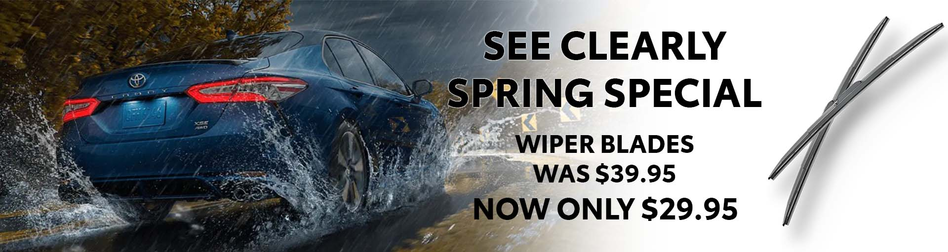 Findlay Toyota Wiper Blade Special Offer