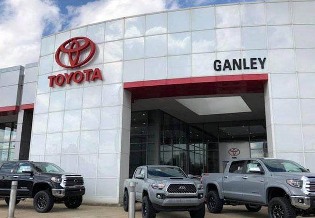 Ganley Toyota Exterior