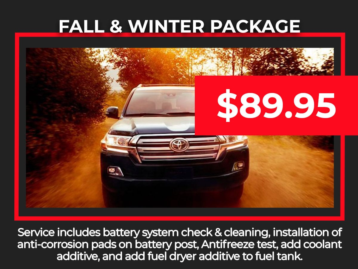 Fall & Winter Service Special Coupon