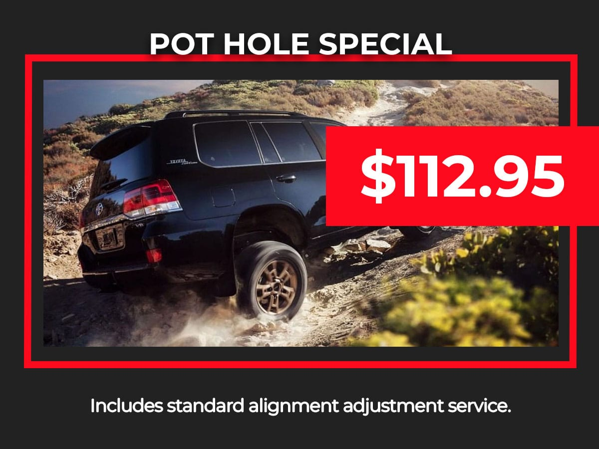 Pothole Service Special Coupon