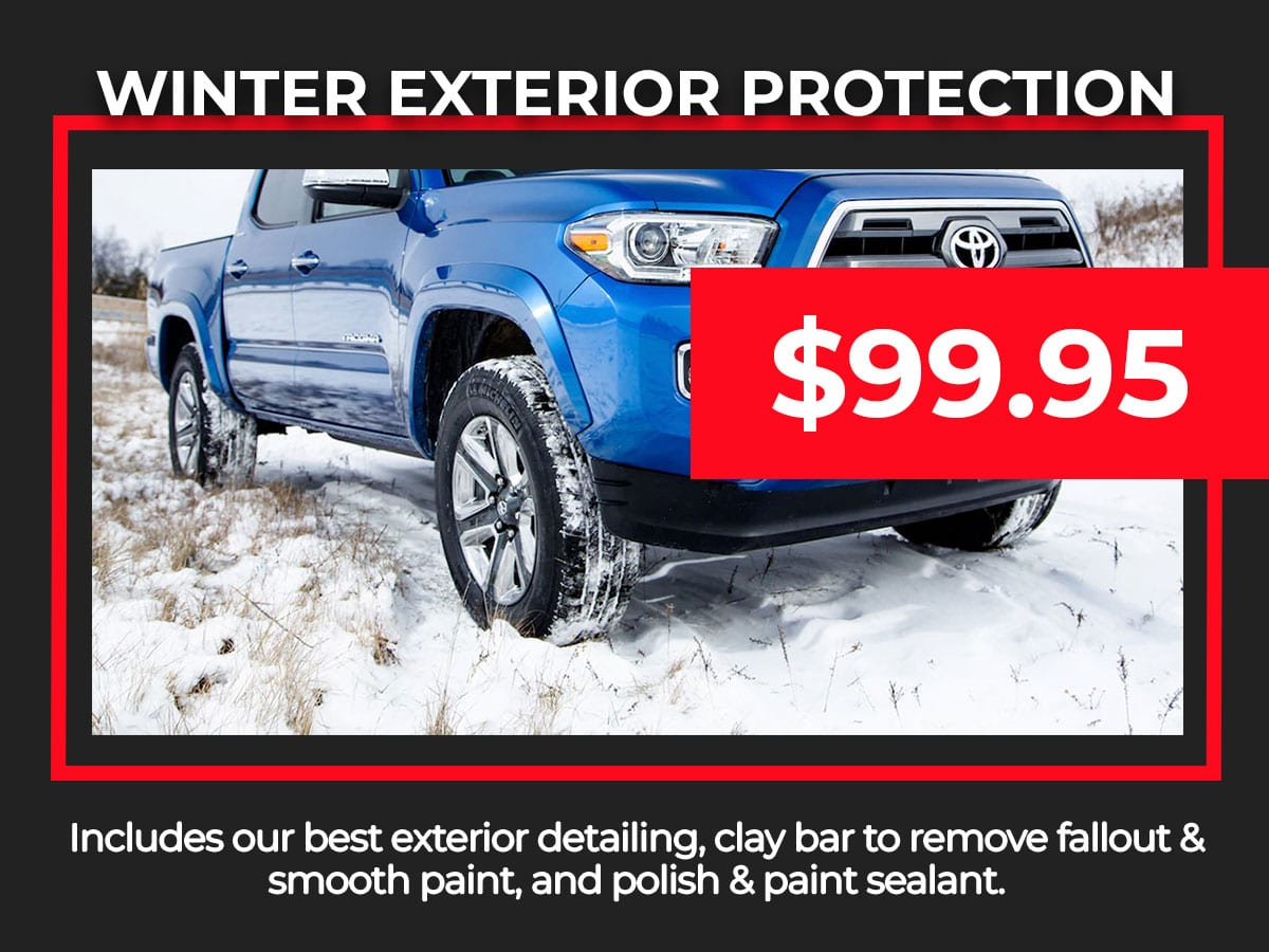 Winter Protection Service Special Coupon