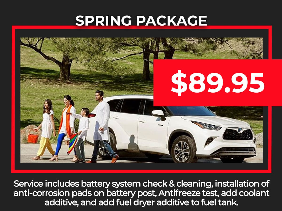 Toyota Spring Service Special Coupon