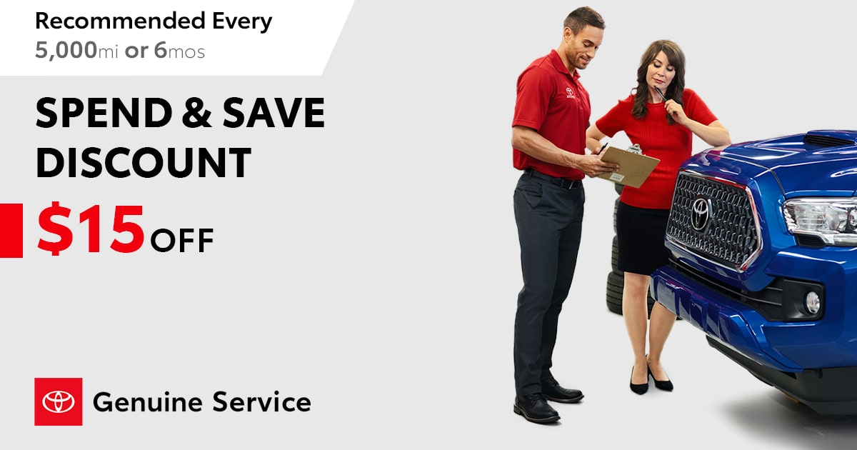 Toyota Service Special Coupon