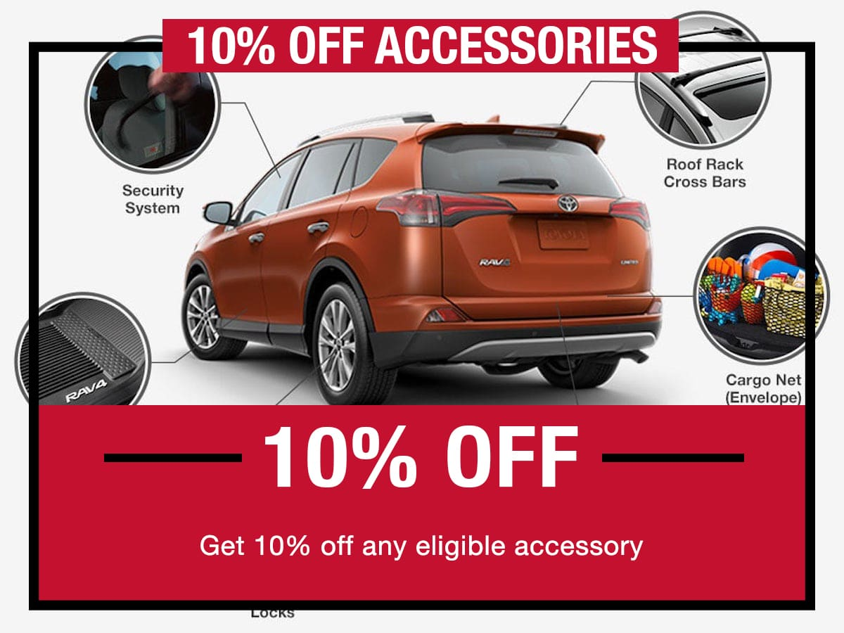 10% Off Accessories Special