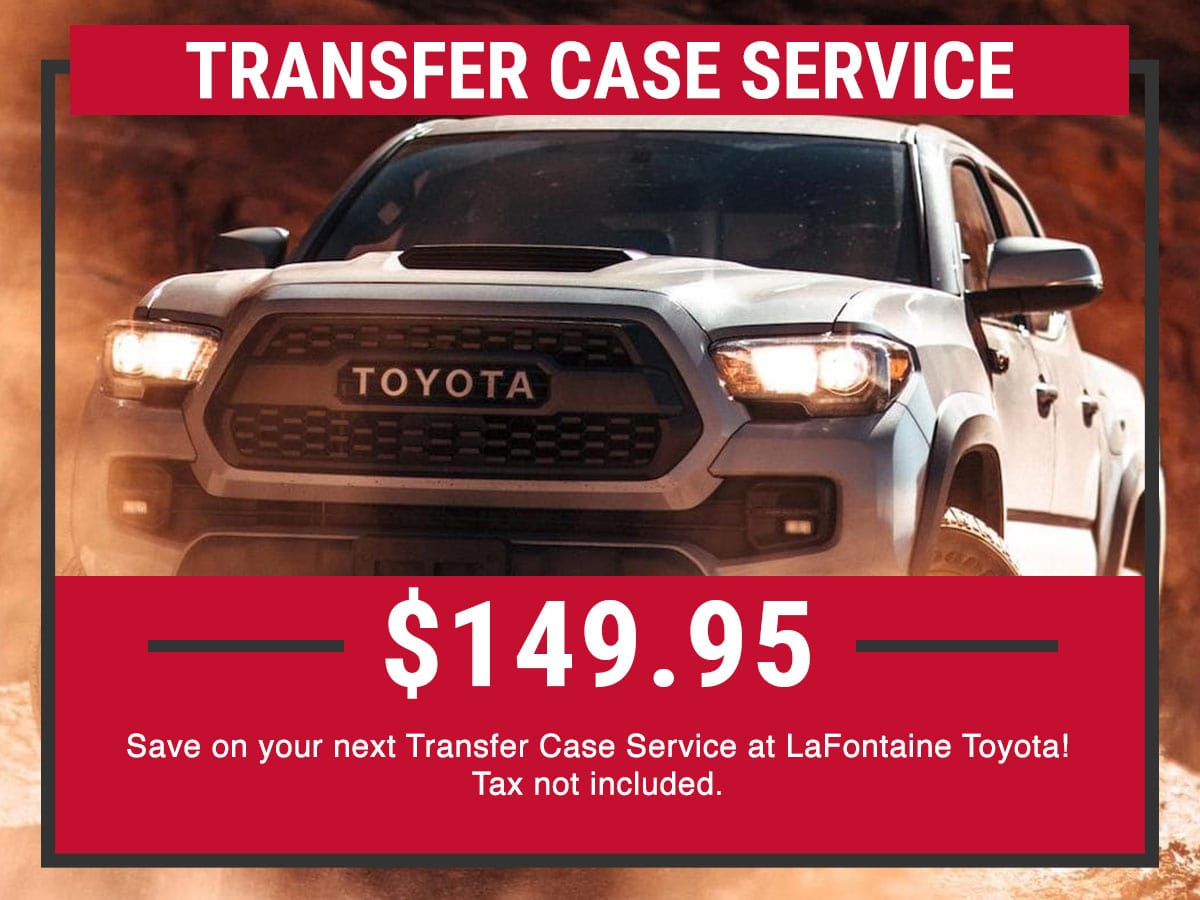 Toyota Transfer Service Special