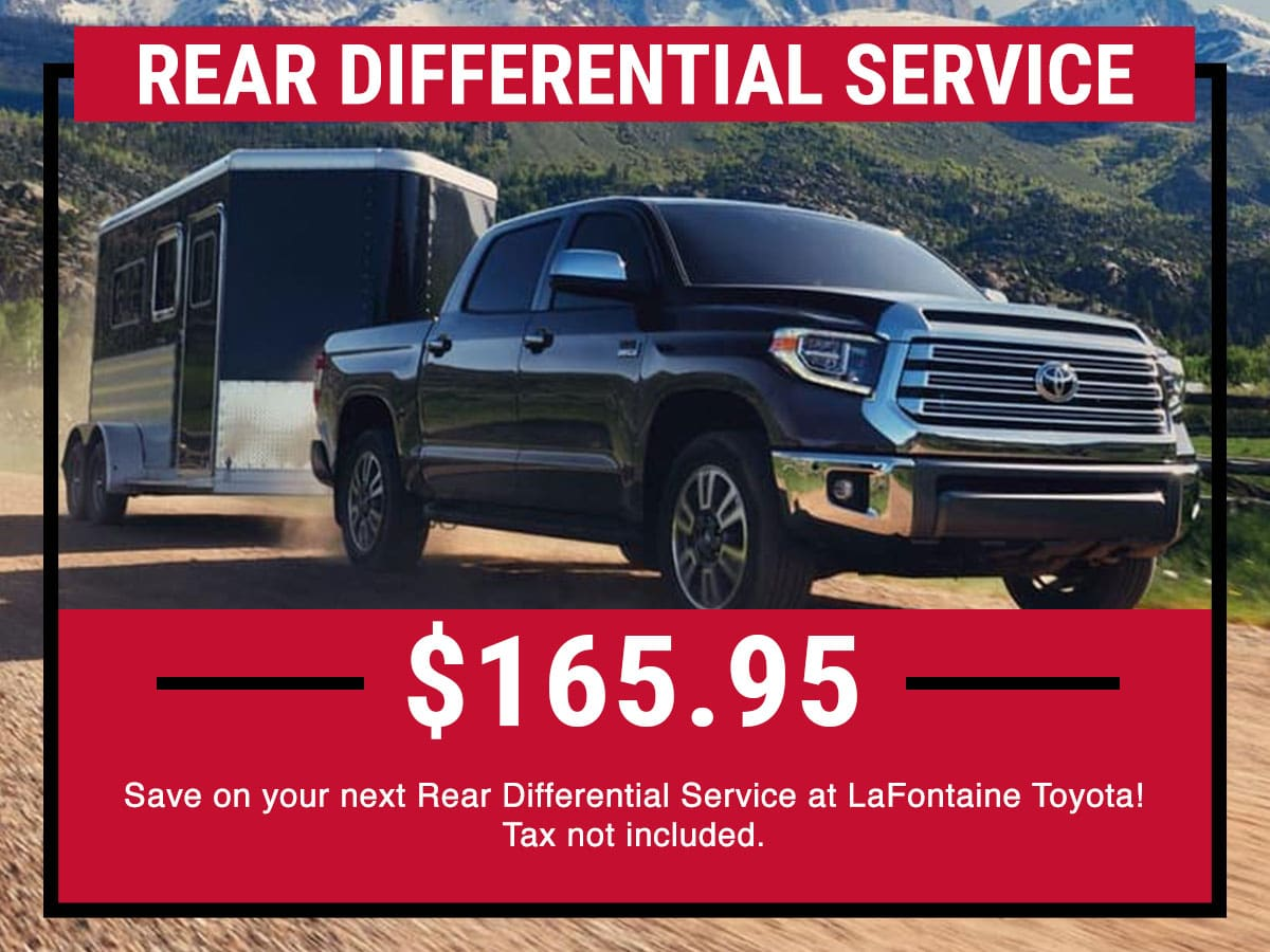 Toyota Rear Differential Service Special