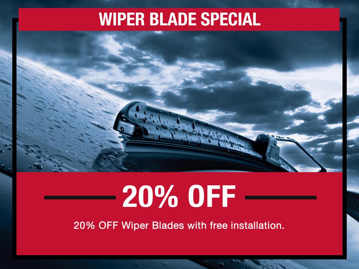 Wiper Blade Service Special