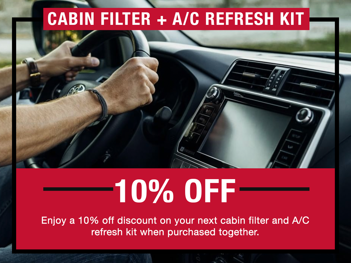 Toyota Cabin Air Filter and AC Refresh Kit