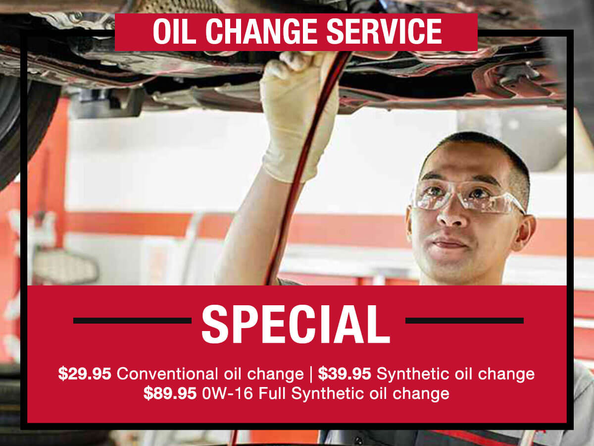 LaFontaine Toyota Convention Oil & Filter Change Service Coupon